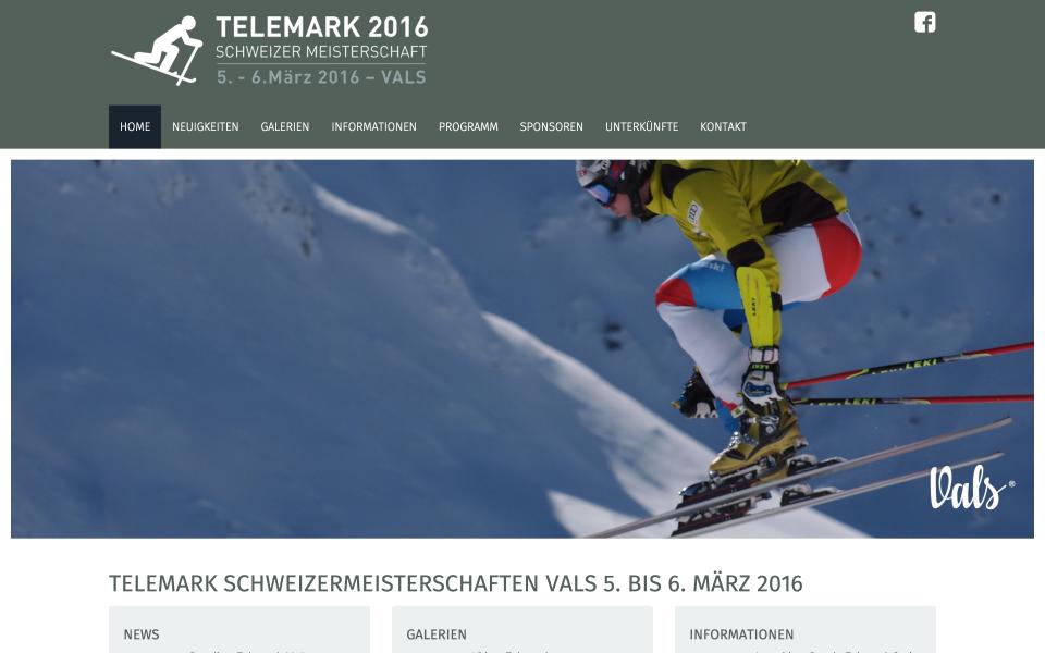 Screenshot telemark-vals.ch