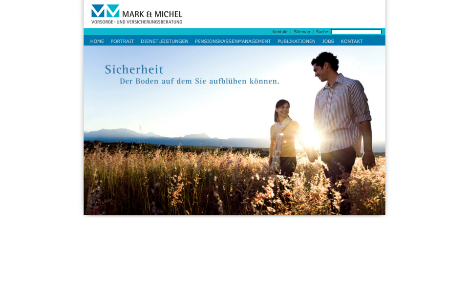 Screenshot markmichel.ch